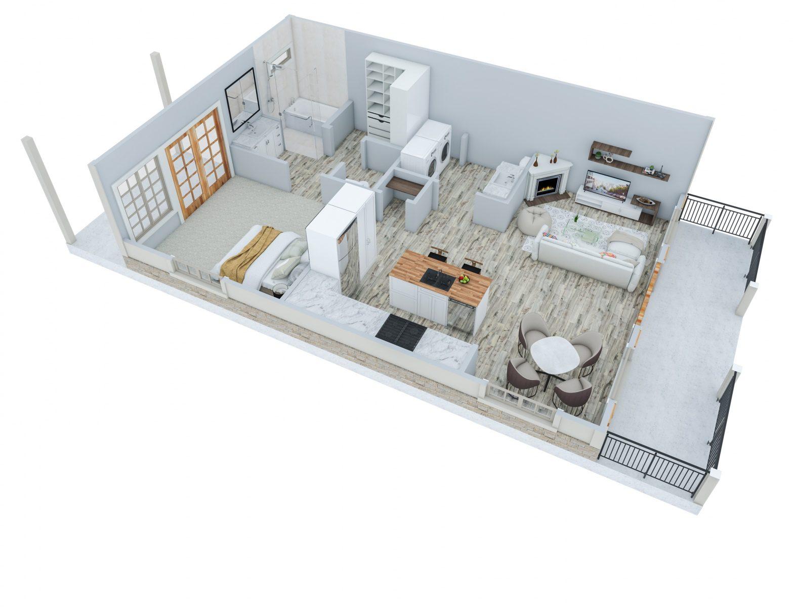 750-Sqft-Backyard-House