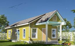 Basford Yellow Farmhouse - ADU - 760