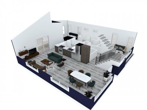 3D-Floorplan