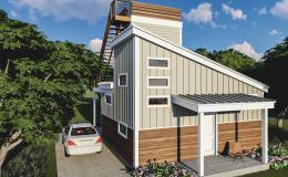 Unique Kemp Loft House - ADU - 600
